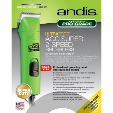 Andis AGC 2 Super Brushless kirpimo mašinėlė 10