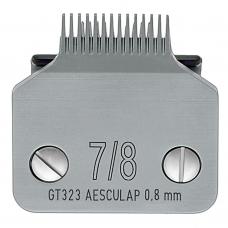 AESCULAP 7/8 - Snap-On, idealiai tinka pėdoms ir aplink burną 0.8mm