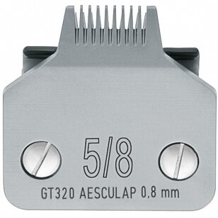 Aesculap 5/8 - Snap-On kirpimo galvutė, 0,8 mm