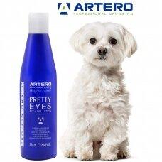 Artero Pretty Eyes - šalina spalvos pasikeitimus po akimis ir aplink burną