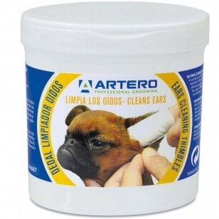 Artero Ears Cleaning Wipes 50vnt.