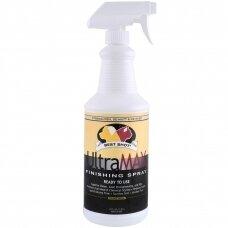 Best Shot Pet UltraMax Pro Finishing Spray - Maitinanti priemonė plaukams, palengvina šukavimą, suteikia blizgesio ir drėkinimo efektą - Talpa: 946ml