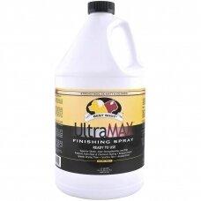 Best Shot Pet UltraMax Pro Finishing Spray - Maitinanti priemonė plaukams, palengvina šukavimą, suteikia blizgesio ir drėkinimo efektą - Talpa: 4,1L
