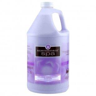Best Shot Spa Lavender & Aloe Calming Conditioner - Hipoalergiškas, raminantis kondicionierius visų tipų plaukams su organiniu levandų aliejumi ir alaviju. Talpa: 3.8L