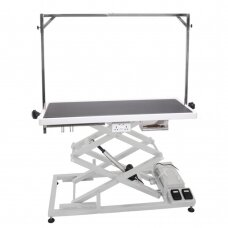 Upper Pro stalas su elektriniu pakėlimu, 125cm x 65cm