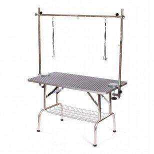 Blovi kirpimo stalas, 110cm x 60cm, aukštis 65cm