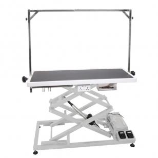 Išparduota Blovi Upper Pro stalas su elektriniu pakėlimu, 125cm x 65cm