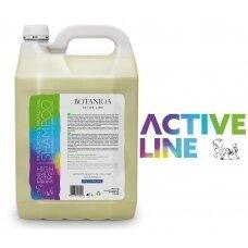"""""""Botaniqa Active Line"""" drėkinamasis ir apsauginis šampūnas - intensyviai drėkinantis ir regeneruojantis šampūnas - Talpa: 4L"""