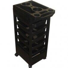 Chadog priemonių vežimėlis 88x39x32cm, juodas