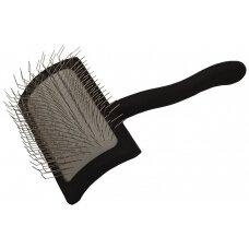 Chris Christensen Big K Medium Slicker Brush - vidutinio dydžio šepetys, ilgomis adatomis