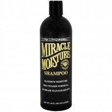 Chris Christensen Miracle Moisture Shampoo - vitaminais praturtintas, intensyviai drėkinantis šampūnas