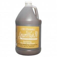 Chris Christensen Smart Wash Vanilla Oatmeal Shampoo - raminantis šampūnas
