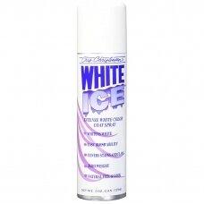 Chris Christensen White Ice Spray - purškiklis, kuris paryškina baltą kailio spalvą ir maskuoja spalvos pasikeitimą bei dėmes