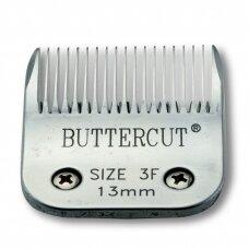 Geib Buttercut Blade SS nr 3F Nerūdijančio plieno kirpimo galvutė, kirpimo ilgis 13mm