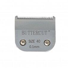 Geib Buttercut Blade SS nr 40 Nerūdijančio plieno kirpimo galvutė, kirpimo ilgis 0,1mm