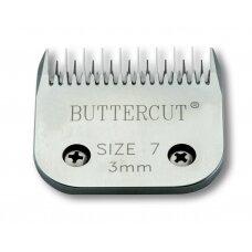 Geib Buttercut Blade SS nr 7 Nerūdijančio plieno kirpimo galvutė, kirpimo ilgis 3 mm
