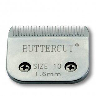 Geib Buttercut Blade SS nr 10 Nerūdijančio plieno kirpimo galvutė, kirpimo ilgis 1,6mm