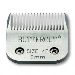 Geib Buttercut Blade SS nr 4F Nerūdijančio plieno kirpimo galvutė, kirpimo ilgis 9mm