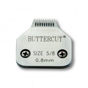 Geib Buttercut Blade SS nr 5/8 Wide Aukštos kokybės nerūdijančio plieno kirpimo galvutė  apdailai