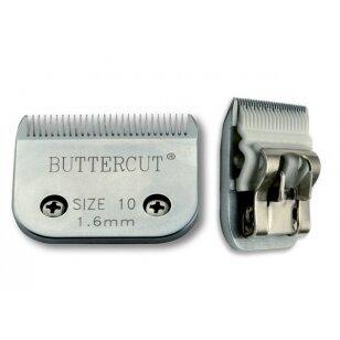 Geib Buttercut Ceramic Blade nr 10 Aukštos kokybės keramikinė kirpimo galvutė. Kirpimo ilgis 1,6mm
