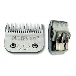 Geib Buttercut Ceramic Blade nr 5 Aukštos kokybės keramikinė kirpimo galvutė. Kirpimo ilgis 6 mm