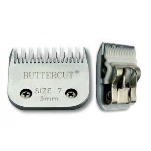 Geib Buttercut Ceramic Blade nr 7 Aukštos kokybės keramikinė kirpimo galvutė ,kirpimo ilgis 3 mm