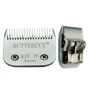 Geib Buttercut Ceramic Blade nr 7F  Aukštos kokybės keramikinė kirpimo galvutė. Kirpimo ilgis 3mm