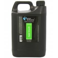 Groom Professional Apple Smooth Shampoo 4L - universalus šampūnas su žaliųjų obuolių ekstraktu. Talpa: 4L
