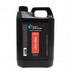 Groom Professional Citrus Shine Shampoo 4l - šampūnas riebiai odai, koncentratas 01:10