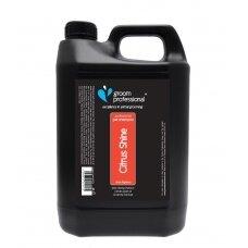 Groom Professional Citrus Shine Shampoo 4l - dezodoruojantis šampūnas riebiai odai. Talpa: 4L