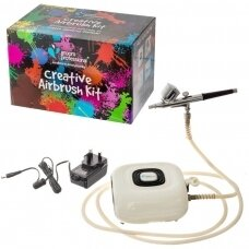 Groom Professional Creative Airbrush Kit - aerografas