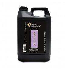 Groom Professional Iris & Amber Luxury Shampoo - prabangaus kvapo, blizgesį suteikiantis šampūnas. Talpa: 4l