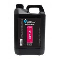 Groom Professional Super Dri Shampoo 4l - valantis ir džiovinimo laiką trumpinantis šampūnas. Talpa: 4L