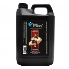 Groom Professional Warm Mince Pies Shampoo 4l - šampūnas su razinų, cinamono aromatu ir brendžio kvapu. Talpa: 4L