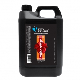 Groom Professional Mulled Orange Shampoo 4l - giliai valantis šampūnas, koncentratas 1:12