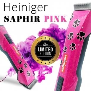 Heiniger Saphir Pink Limited Edition belaidė mašinėlė