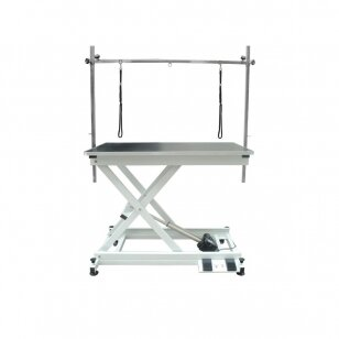 Modern trimmer table Blovi Moon with an electric lift 110x60cm
