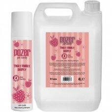 Pozer Truly Madly Deeply Shampoo 4L - giluminio valymo šampūnas su mango vaisių ekstraktais, koncentratas 1:12