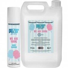 Pozer We Are Young Shampoo - delikatny szampon dla szczeniąt i psów wrażliwych, koncentrat 1:12 - Pojemność: 4L