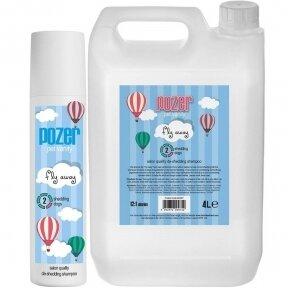 Pozer Fly Away Shampoo 4L - šampūnas, skirtas sumažinti plaukų slinkimą, koncentratas 1:12