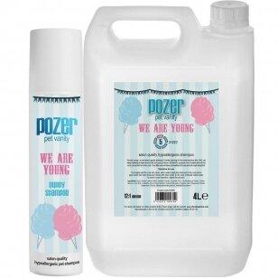 Pozer We Are Young Shampoo Švelnus šampūnas šuniukams ir šunims, turintiems jautrią odą/kailį.