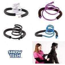 Show Tech - lanksti rankinio džiovintuvo rankena, laikiklis - spalva: Juodas