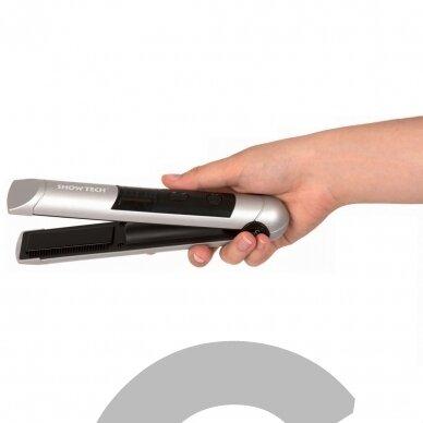 Show Tech Cordless Hair Straightener - profesionalus, belaidis mini tiesintuvas su 3 lygių temperatūros valdymu 2