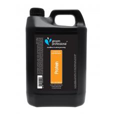 Szampon Groom Professional 2 in 1 Protein Shampoo - šampūnas ir kondicionierius viename. Talpa: 4l
