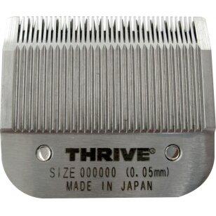 Thrive Professional Blade #000000 Kirpimo galvutė aukštos kokybės 0,05mm Snap-On