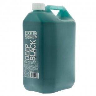 Wahl Deep Black Shampoo - profesionalus šampūnas juodiems ir tamsiems plaukams - Talpa: 5L