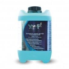 Yuup! Crisp Coat & Volumising Shampoo - profesionalus šampūnas šiurkščiam kailiui prižiūrėti, didinantis apimtį. Talpa: 10L
