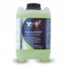 Yuup! Professional Purifying Shampoo - universalus valomasis šampūnas visų tipų kailiams. Talpa: 10L